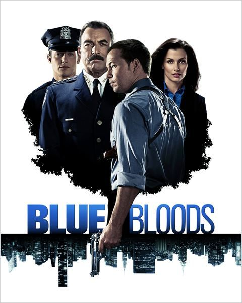 Blue Bloods : Photo Bridget Moynahan, Donnie Wahlberg, Tom Selleck, Will Estes