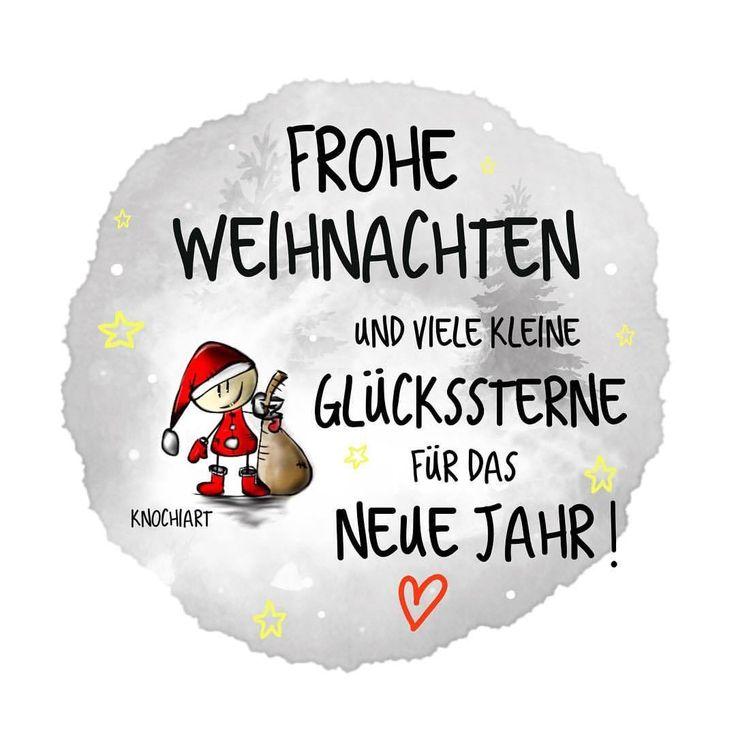 ❤️ Frohe Weihnachten  und viele kleine Glückssterne für das neue Jahr