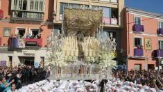#vídeo  A sí se vive un Martes Santo en la Tribuna de los Pobres Martes Santo de Rocío