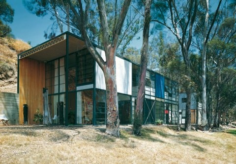 Charles Eames, Case Study House #8, Pacific Palisades, California