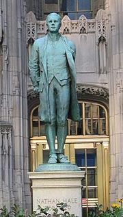 ...Nathan Hale -- a true Patriot...