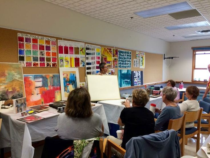 In Fall 2015 I conducted a week of non- objective watercolour painting workshop during Canadian Society of Watercolour Painters (CSPWC) Symposium in Cornwallis Annapolis Basin Nova Scotia Canada  .