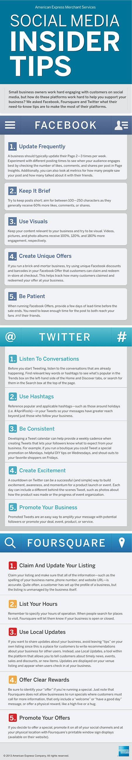 Social Media Tips for engaging Social Media Marketing #Infographic