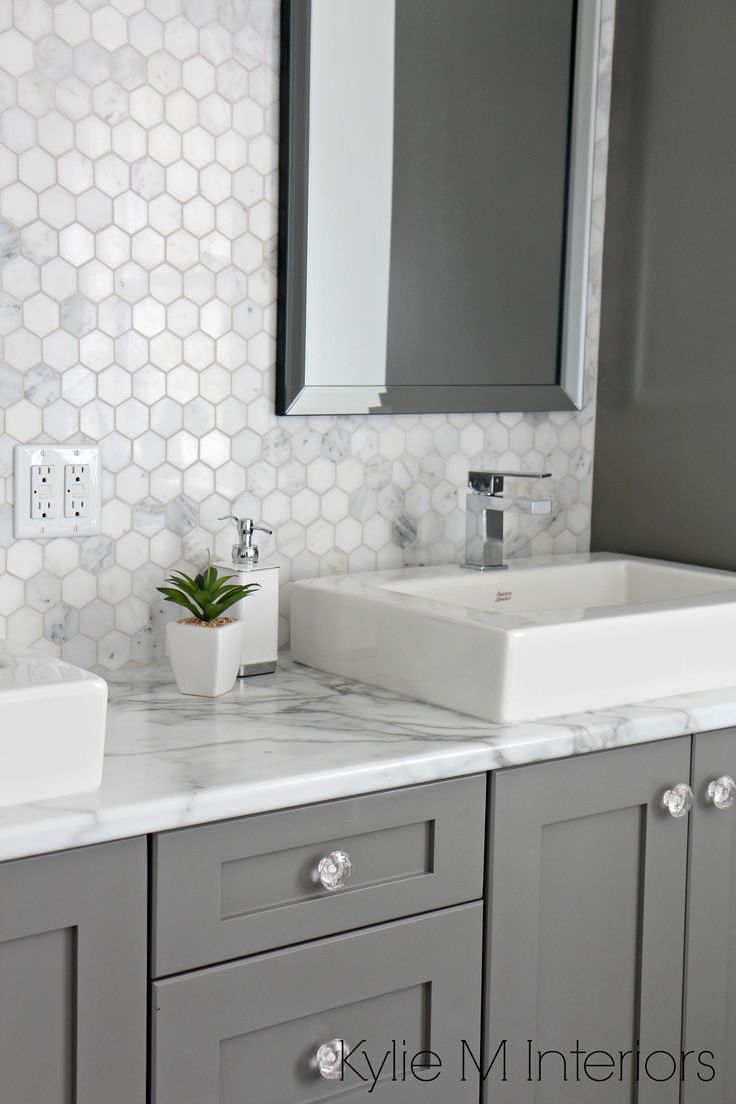 white hex floor tile color - Google Search