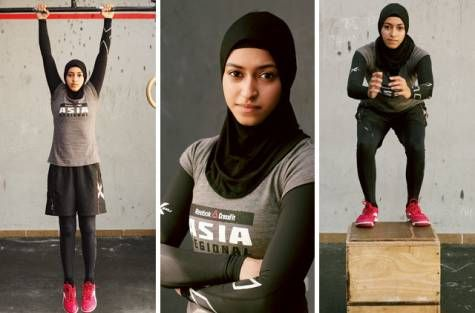 I've received some messages about women wearing a hijab when they workout and it just hit me that I've never seen a photo here on tumblr with a woman wearing that when she works out. I think we need more variety :)xx