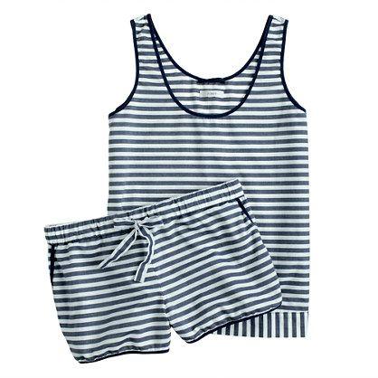 Vintage cotton pajama short set - sets - Women's sleepwear - J.Crew