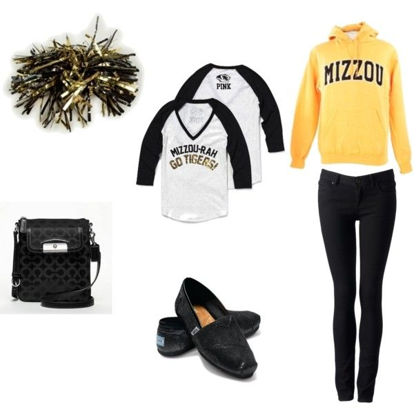 Mizzou Football Game, created by allison-hippe