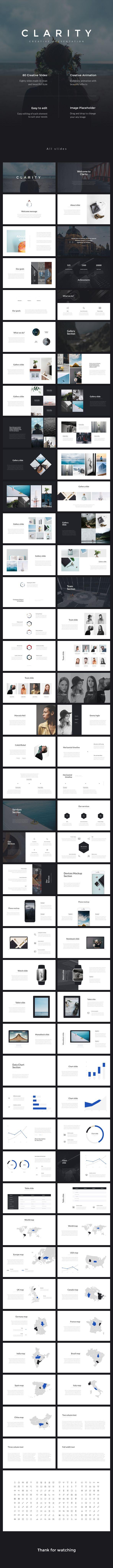 Clarity PowerPoint Presentation - PowerPoint Templates Presentation Templates Download here: https://graphicriver.net/item/clarity-powerpoint-presentation/17757906?ref=classicdesignp