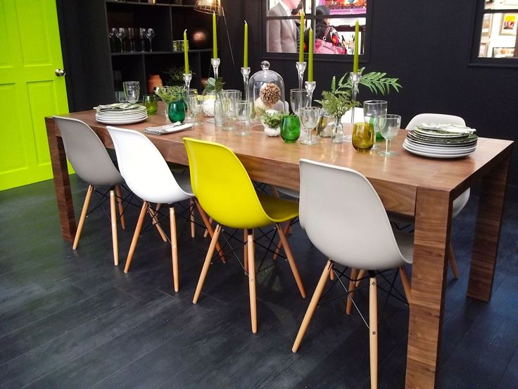 81 best eames side chair lover images on pinterest dinner parties