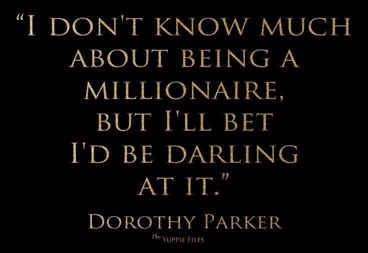 Words of Dorothy Parker