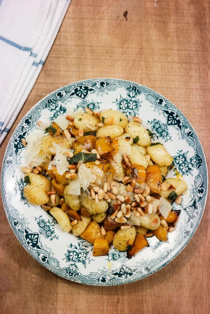Bruk sesongens nydelige gresskar til denne enkle retten med gnocchi og salviesmør.