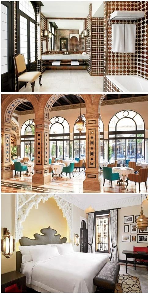 Hotel Alfonso XIII in Seville, Spain