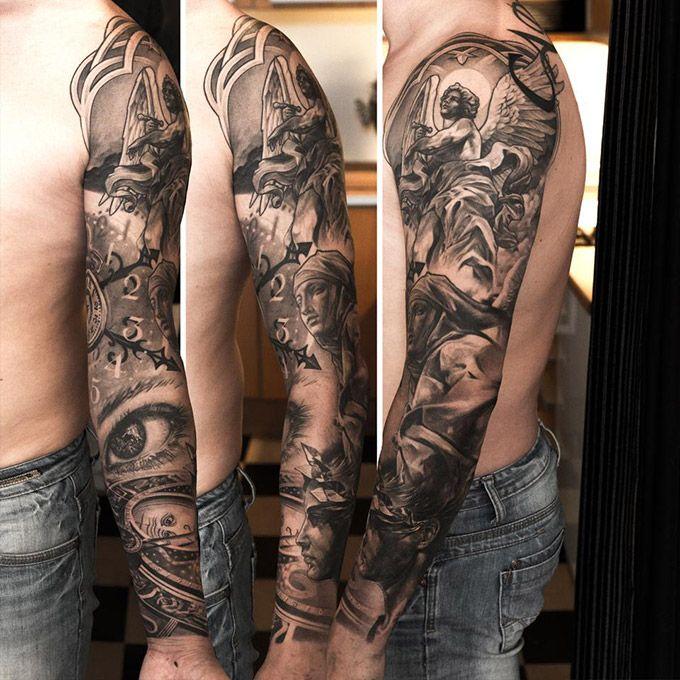 Эскизы мужских татуировок