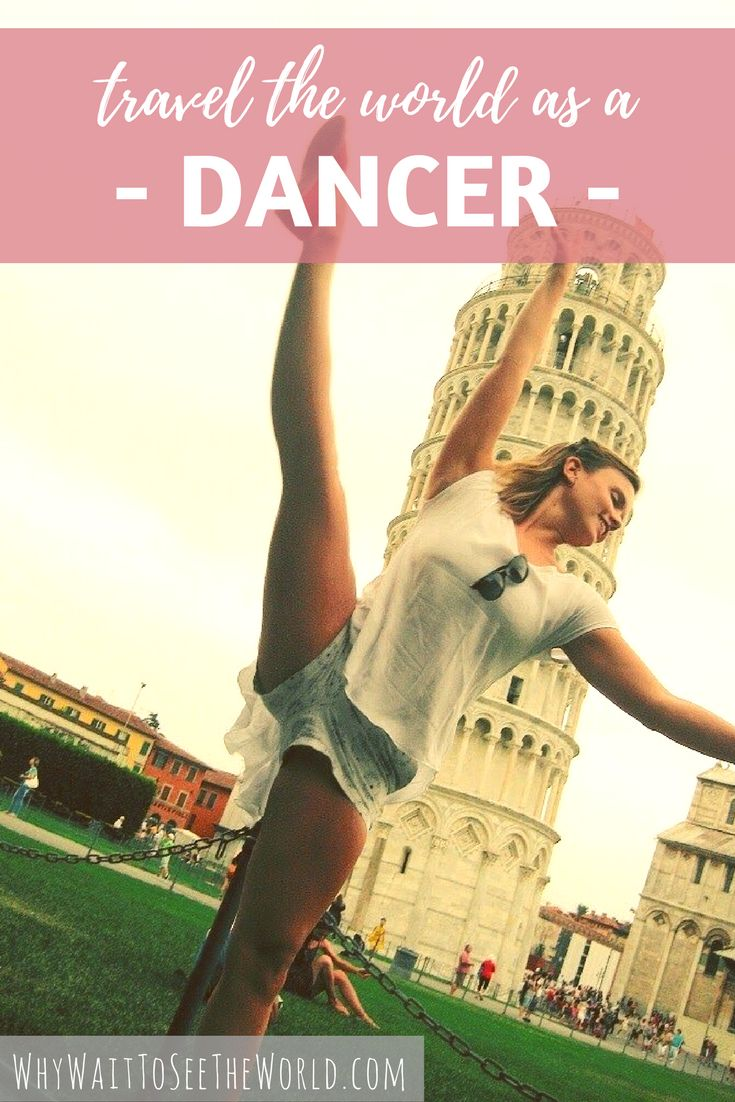 How to travel the world as a dancer. This guide from @WhyWaitWorld will show you how you can use your passion of dancing to see the world. | whywaittoseetheworld.com