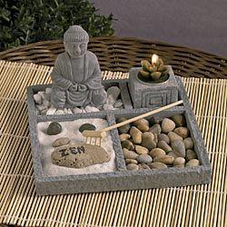 98 best images about zen gardens on pinterest gardens indoor zen garden and buddha - Zen garten miniatur set ...