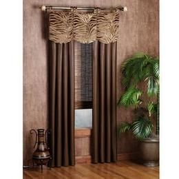 Safari Swag Curtains Urban Safari Window Treatments