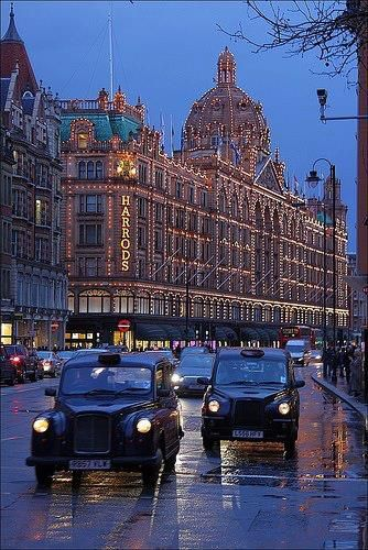Harrods in London my fav place in London I think was there everyday on our trip