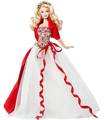 88 best Christmas Barbies images on Pinterest | Barbie collector ...