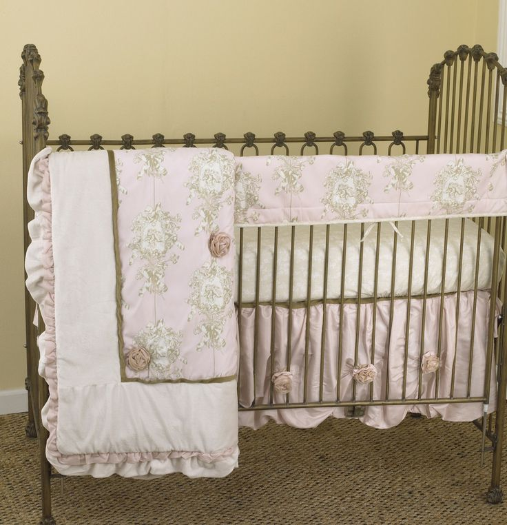 Cotton Tale Lollipops And Roses Crib Bedding