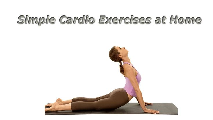 Simple Cardio Exercises at Home...
