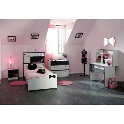 18 best images about d co chambre enfant on pinterest for Chambre rose fushia et blanc