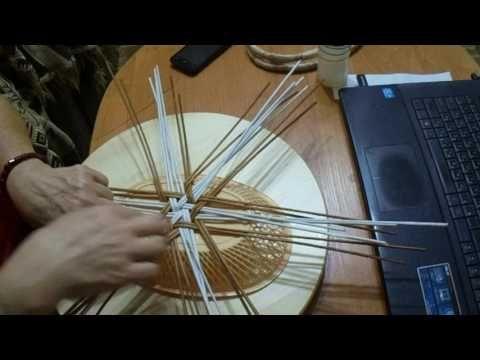Как сплести овальную шкатулку, подробный мастер класс   oblacco