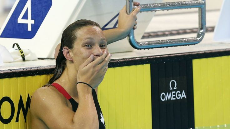 Penny Oleksiak - With only 16 years she is the star of the Canadian Olympic…