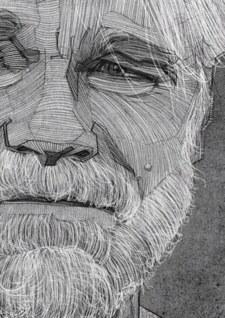 Philip Seymour Hoffman Portrait, Charcoal Line Drawing, Illustration. i am still sad about his death.