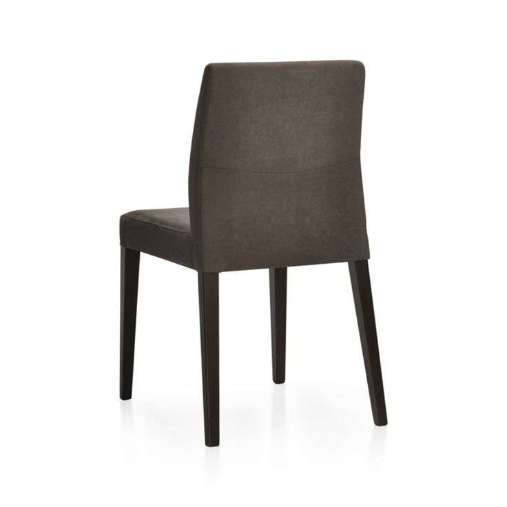 monterey charcoal dining chair crate and barrel dining room pinterest dining chairs and charcoal