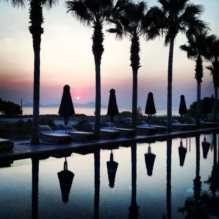 The best #sunset in #Kos, is at Aqua Blu Boutique Hotel + Spa...Enjoy..
