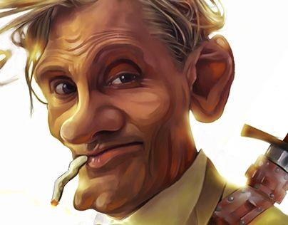 "Check out new work on my @Behance portfolio: ""Viggo Mortensen ""Modern Aragorn"""" http://be.net/gallery/31480871/Viggo-Mortensen-Modern-Aragorn"