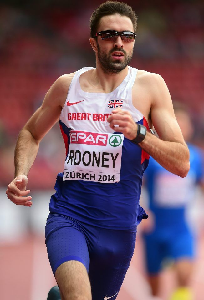 Martyn Rooney - Athletics. 400m & 400m relay.