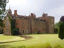 Melford Hall is a stately home in the village of Long Melford, Suffolk, England. It is the ancestral seat of the Parker Baronets. The hall was mostly constructed in the 16th century, incorporating parts of a medieval building held by the abbots of Bury St Edmunds which had been in use since before 1065.[citation needed] It has similar roots to nearby Kentwell Hall.