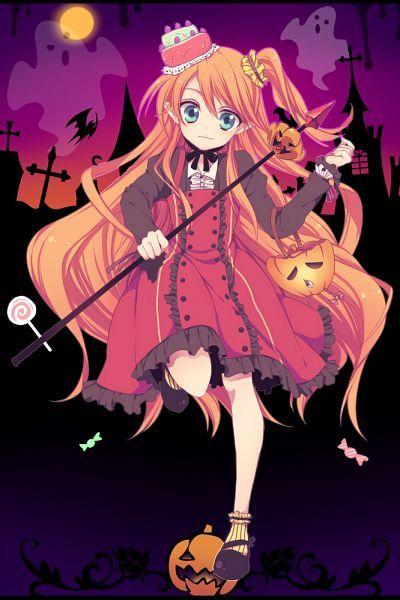 anime halloween girl - photo #14