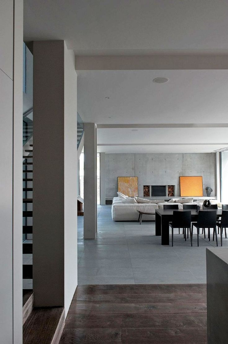 Contemporary home interiors - Sorrento House By Robert Mills Architects