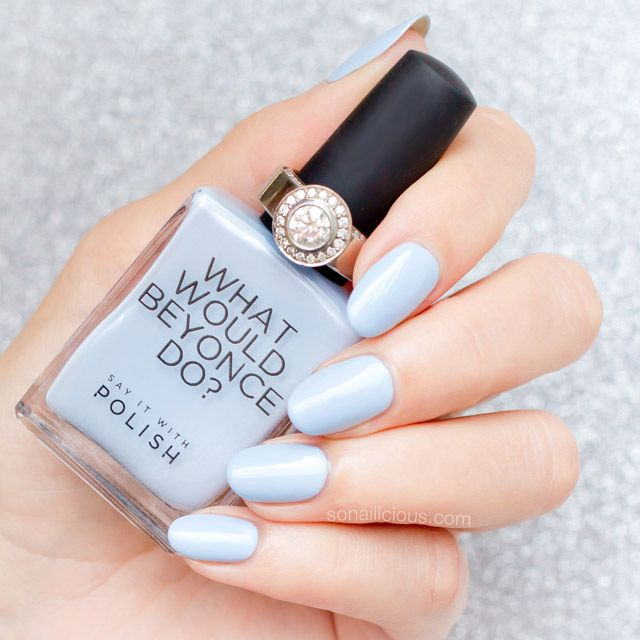 Best 25+ Light blue nail polish ideas on Pinterest ...