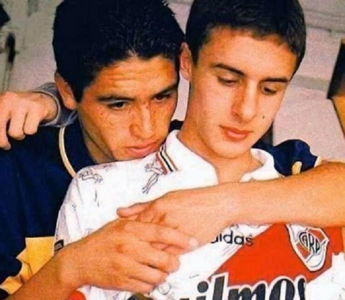 Juan Roman Riquelme & Juan Pablo Aimar - Boca Juniors & River Plate