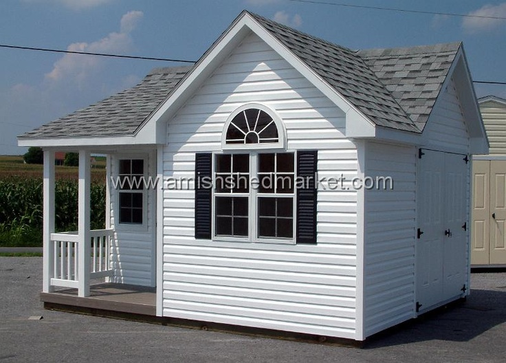 Shed with porch plans 12 39 x 14 39 elite victorian for Shed with porch