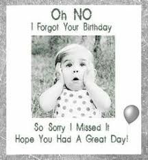 Image result for when family disappoints you by forgetting your birthday
