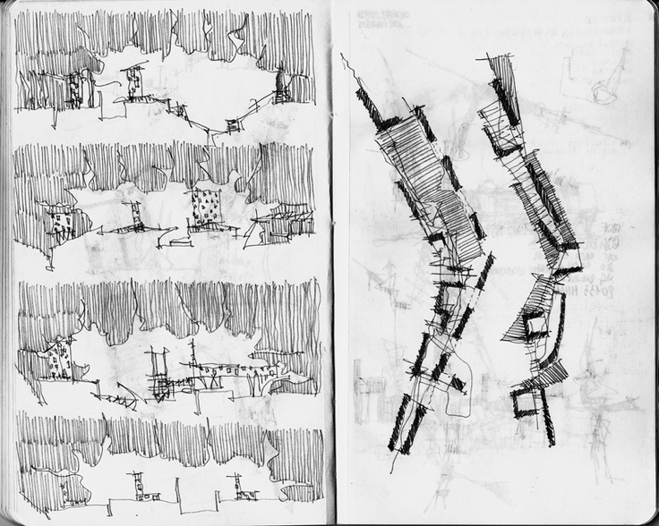 © Fabio Alessandro Fusco, Pianta e sezioni/Plan and sections, 2006