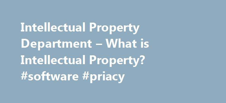 Intellectual Property Department – What is Intellectual Property? #software #priacy http://china.nef2.com/intellectual-property-department-what-is-intellectual-property-software-priacy/  # Software Piracy: the Facts This Contribution is Courtesy of the Business Software Alliance What is Software Piracy? The PC industry is barely 20 years old. In that time, both the quality and quantity of available software programs have increased dramatically. Although approximately 70% of the worldwide…