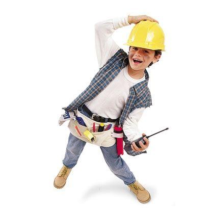 Construction Worker Halloween Costume for Kids