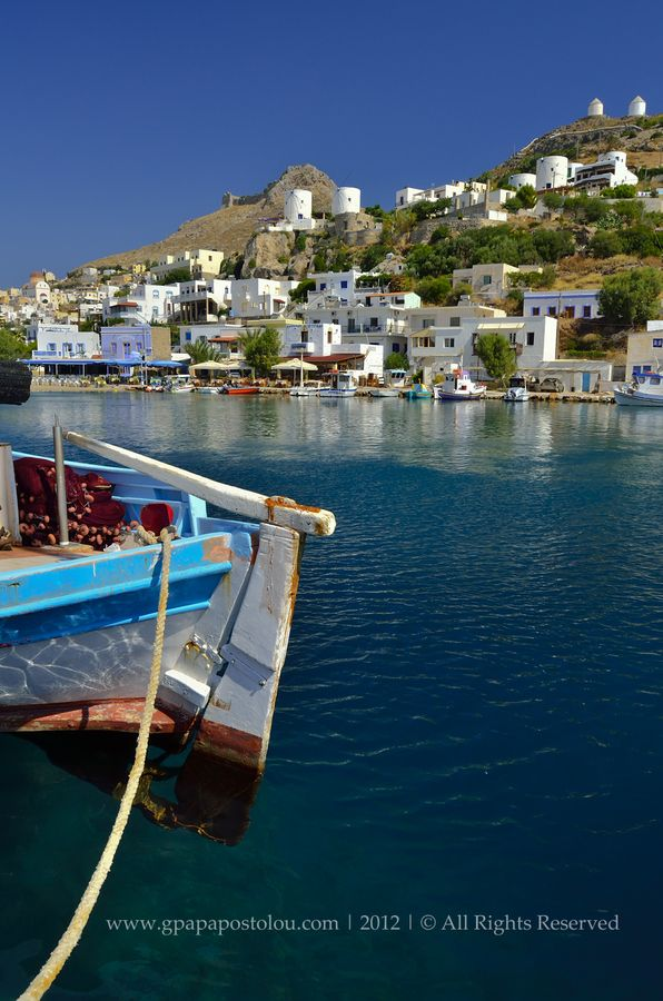 Panteli village. Leros, Greece