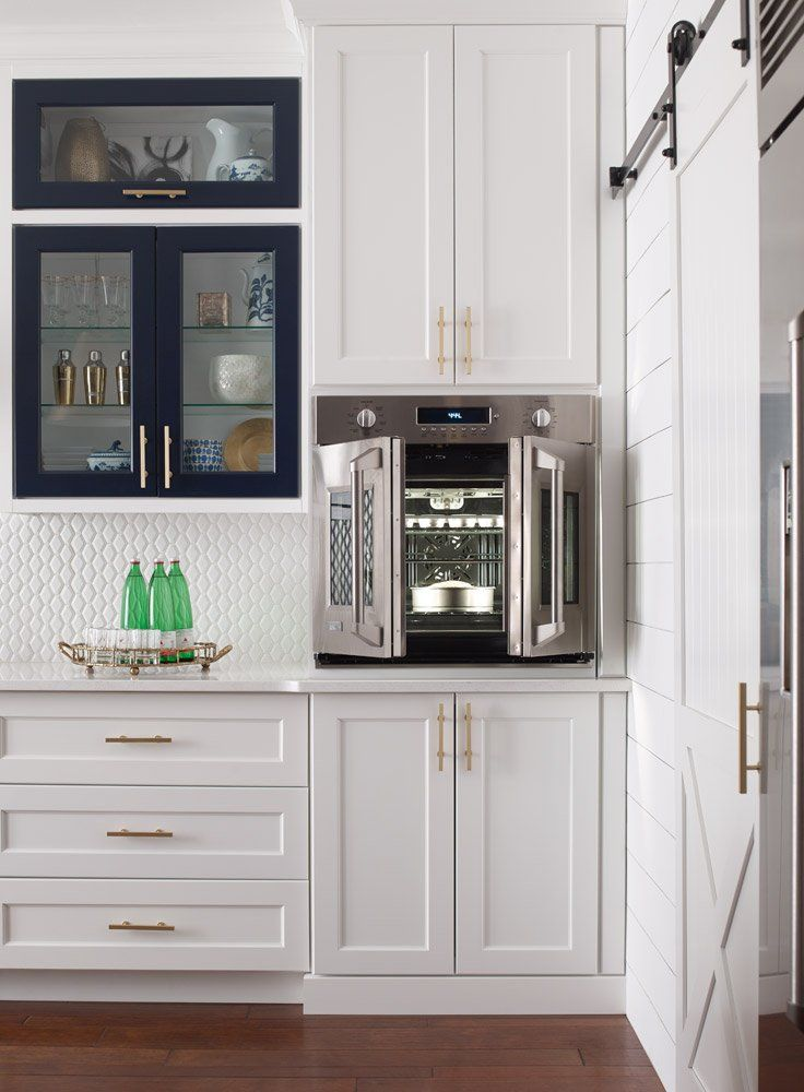 French Door Wall Ovens Save Space In Your Kitchen Single Wall