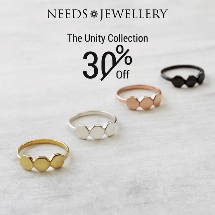 NOW YOU GET 30% on the whole UNITY series. #ring #RINGE #uniquedesign #fashionjewelry #goldplated #rosegold #darksilver #sterling #silver #gifts #giftsidea #sale #off #needs #jewellery #NEEDSJEWELLERY