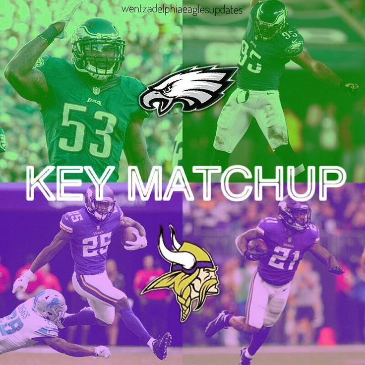 KEY MATCHUP: _____ Eagles backers vs. Vikings backs _____ -This weeks fourth Key Matchup post is the Eagles linebackers against the Vikings running backs. The opposite of the last post but similar. The Vikings feature less power backs than the Eagles but have Latavius Murray who can run well and Jerick McKinnon who is a quick agile back. Murray finished the year with 216 carries for 842 yards and 8 touchdowns. McKinnon added 150 carries for 570 yards and 3 touchdowns. Murray had a very…