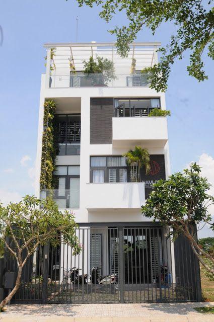Thiết kế thoáng mát cho không gian nhà phố