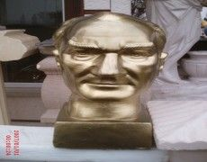 Ataturk Wall Bust