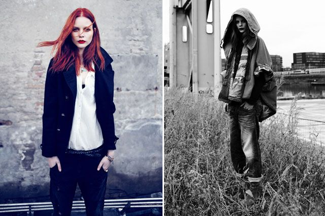 Scotch & Soda turned out a covetable collection of jeans, shirts and jackets for their denim line Amsterdams Blauw