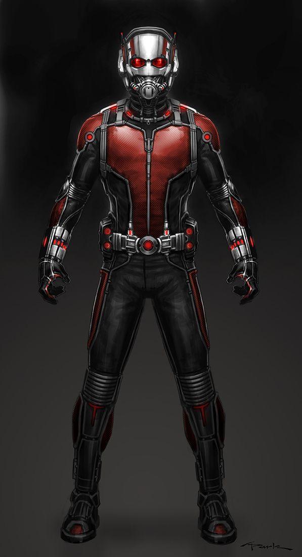 Andy Park Art - ANT-MAN